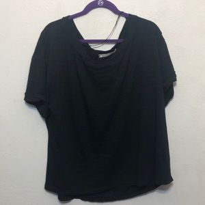 Free People Tops - NEW Free People Viola T-Shirt Open Back